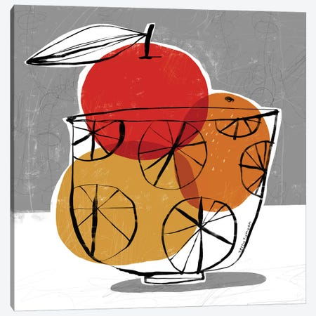 Simple Fruit Canvas Print #TRU72} by Terry Runyan Art Print