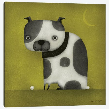 Stubby Tail Canvas Print #TRU81} by Terry Runyan Canvas Wall Art