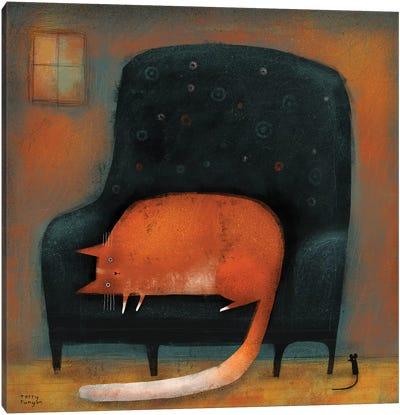 Tiny Mouse Canvas Art Print