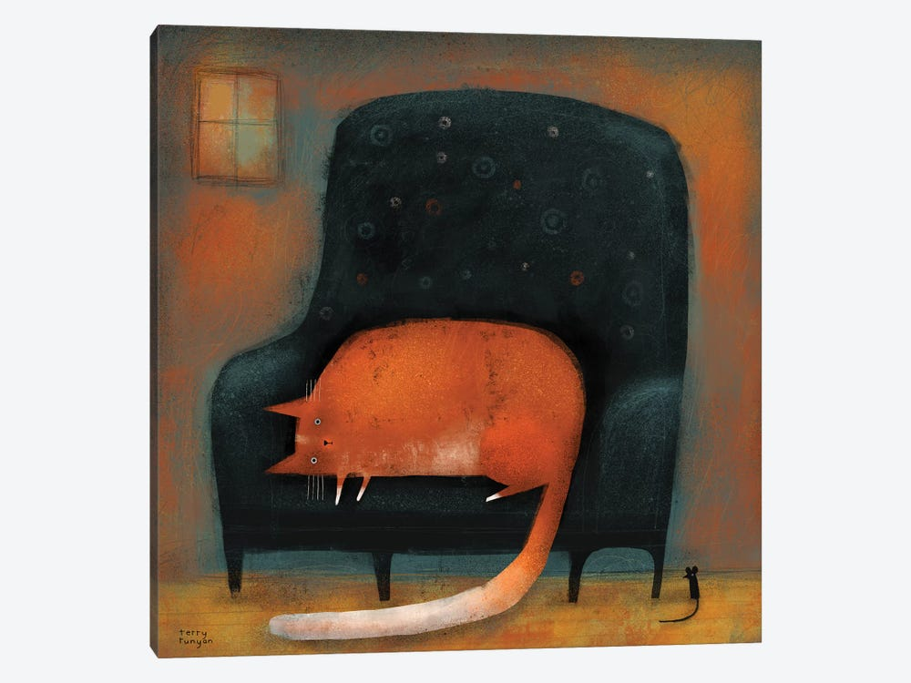 Tiny Mouse by Terry Runyan 1-piece Art Print