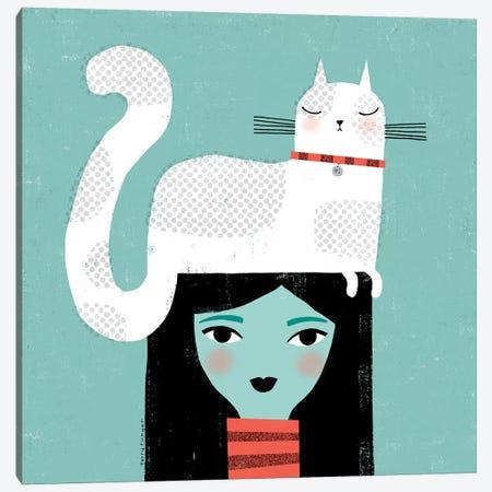 Cat Attitude Canvas Print #TRU95} by Terry Runyan Canvas Artwork