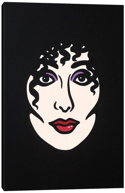 Cher Canvas Art Print