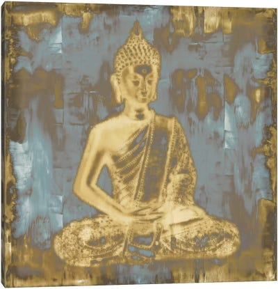 Meditating Buddha Canvas Art Print