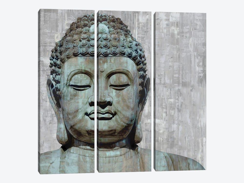 Meditative I by Tom Bray 3-piece Canvas Wall Art