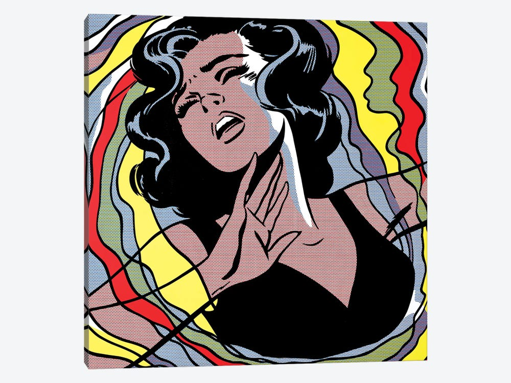 Nightmare by Toni Sanchez 1-piece Canvas Art Print