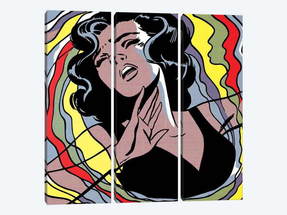 Nightmare by Toni Sanchez 3-piece Canvas Print