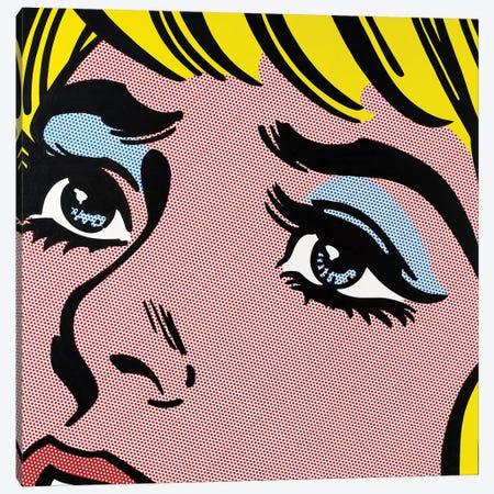 Sad Eyes Canvas Print #TSA16} by Toni Sanchez Canvas Print
