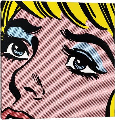 Sad Eyes Canvas Art Print