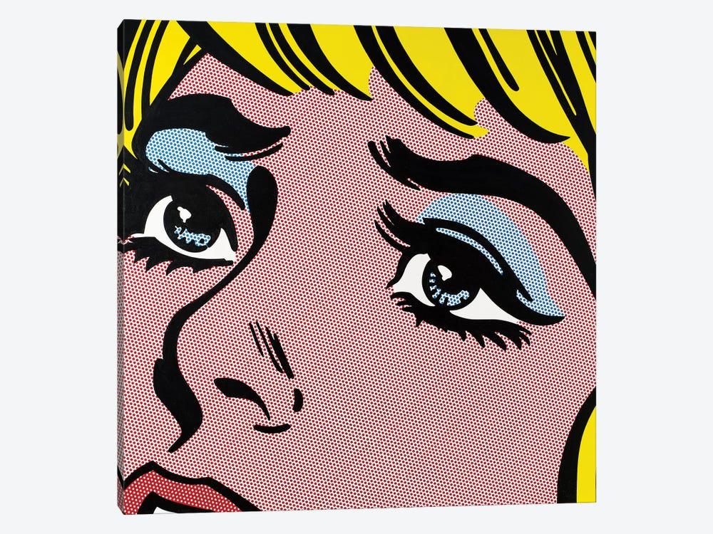 Sad Eyes by Toni Sanchez 1-piece Canvas Art