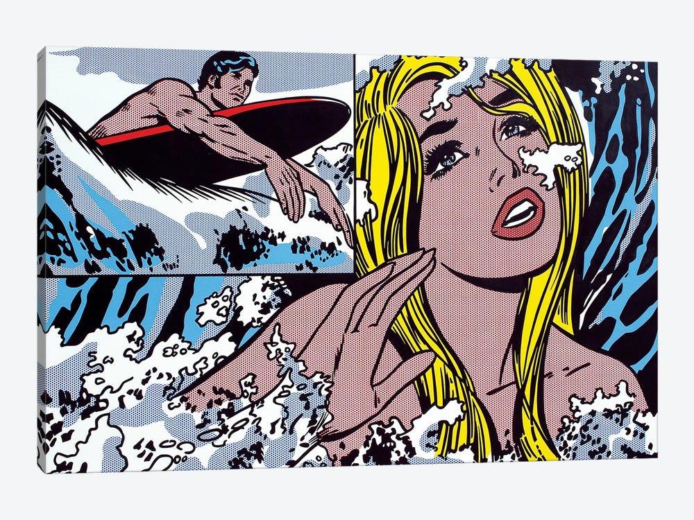 Surfer by Toni Sanchez 1-piece Art Print