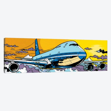 747 Canvas Print #TSA1} by Toni Sanchez Art Print
