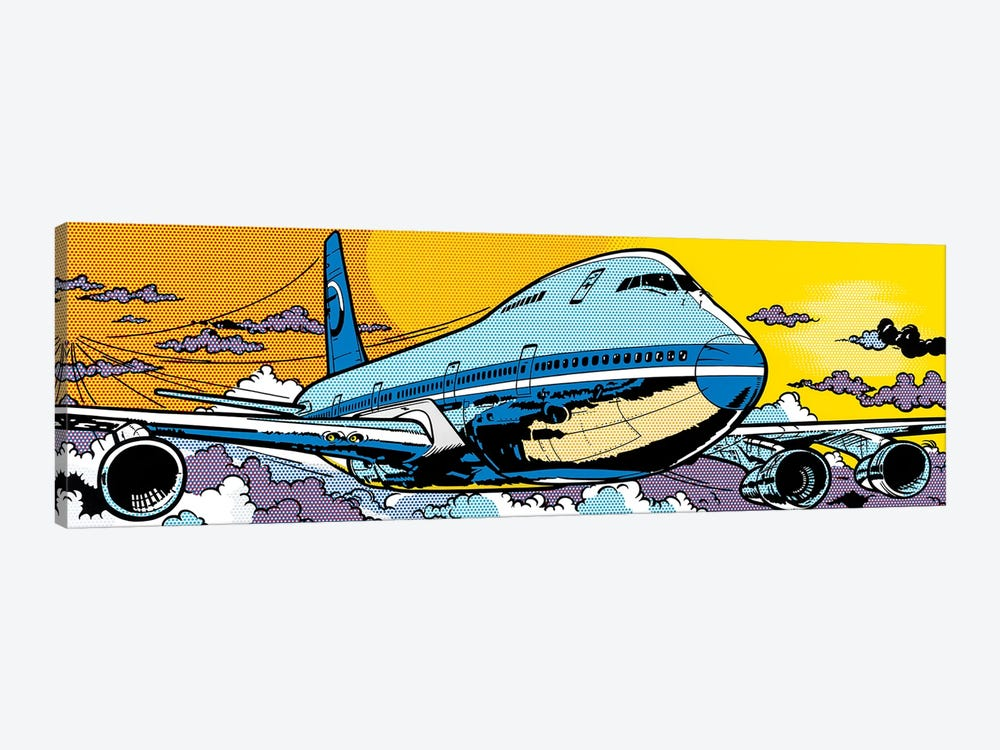 747 by Toni Sanchez 1-piece Canvas Art