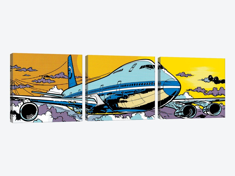 747 3-piece Canvas Art