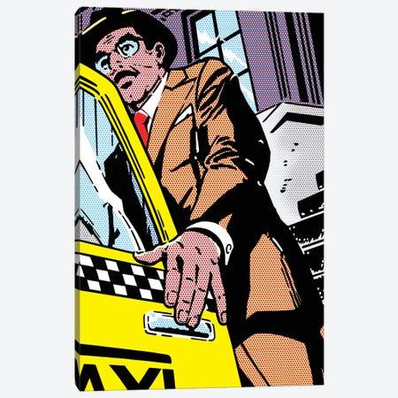 Taxi Canvas Print #TSA20} by Toni Sanchez Canvas Art Print