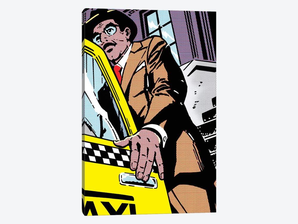 Taxi by Toni Sanchez 1-piece Art Print