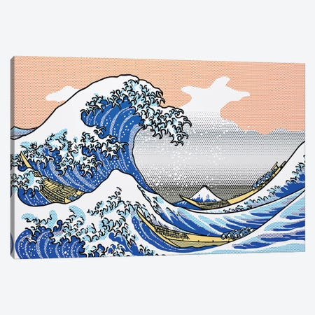 The Wave Canvas Print #TSA25} by Toni Sanchez Canvas Wall Art