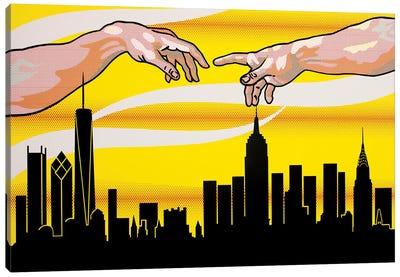 Yellow Skies Over Paradise Canvas Art Print