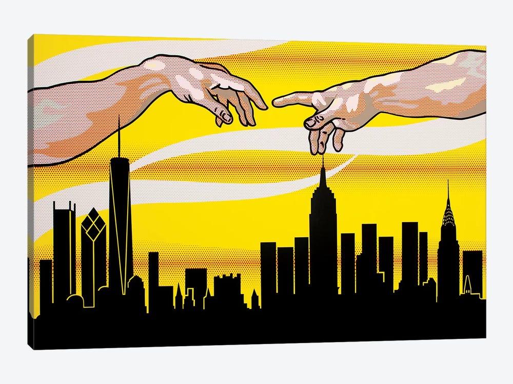 Yellow Skies Over Paradise by Toni Sanchez 1-piece Canvas Artwork