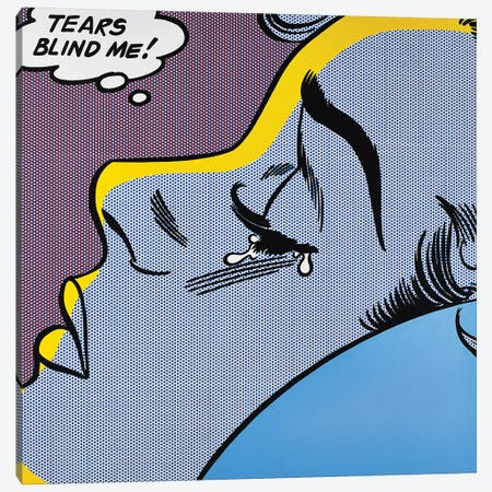 Lagrimas Me Ciegan Canvas Print #TSA33} by Toni Sanchez Canvas Artwork