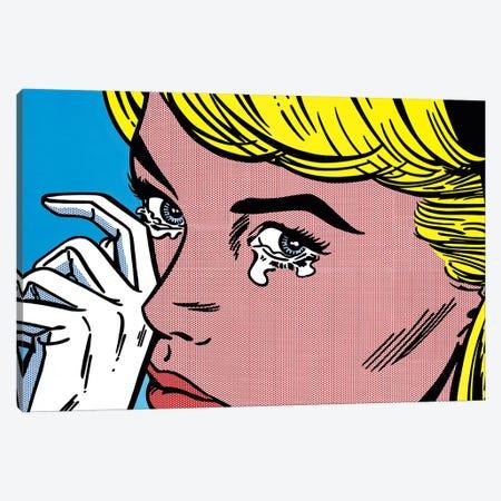 Crying Canvas Print #TSA3} by Toni Sanchez Canvas Print