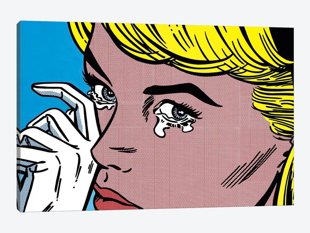 Crying by Toni Sanchez 1-piece Canvas Artwork