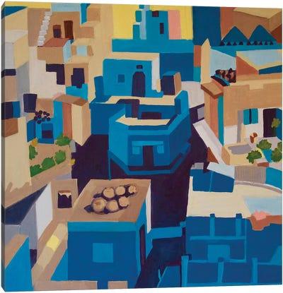 Blue City, Jodhpur Canvas Art Print