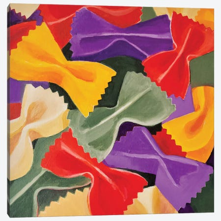 Bowties Canvas Print #TSD12} by Toni Silber-Delerive Canvas Art Print