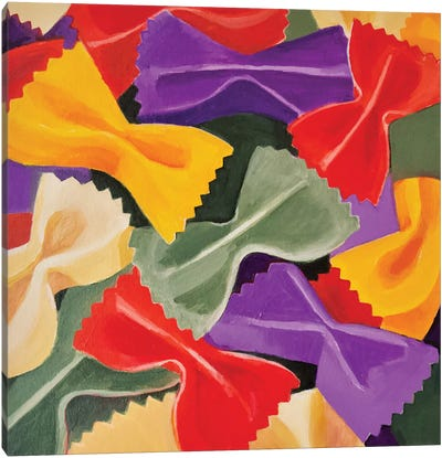 Bowties Canvas Art Print