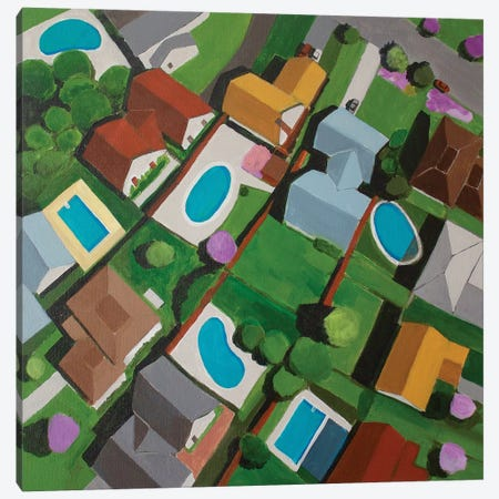 Canyon Gate I Canvas Print #TSD13} by Toni Silber-Delerive Canvas Print