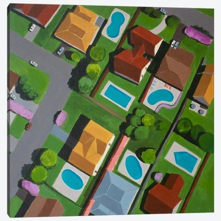 Canyon Gate II Canvas Print #TSD14} by Toni Silber-Delerive Canvas Artwork