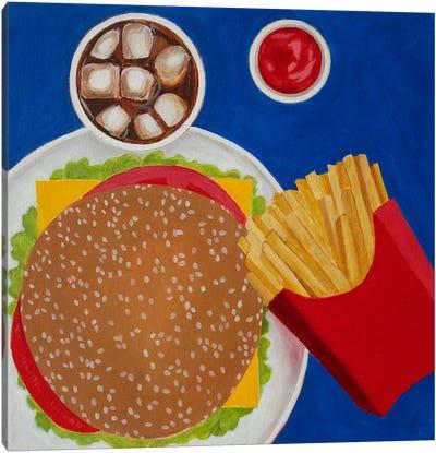 Cheeseburger Canvas Art Print