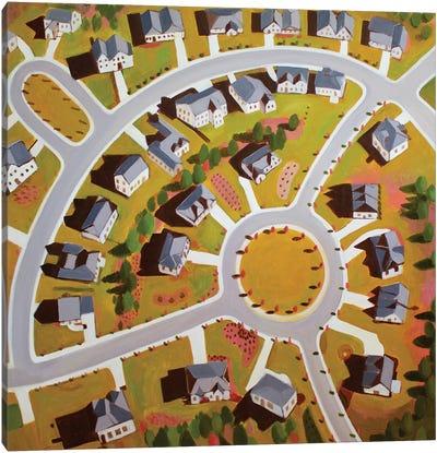 Circular Development Canvas Art Print