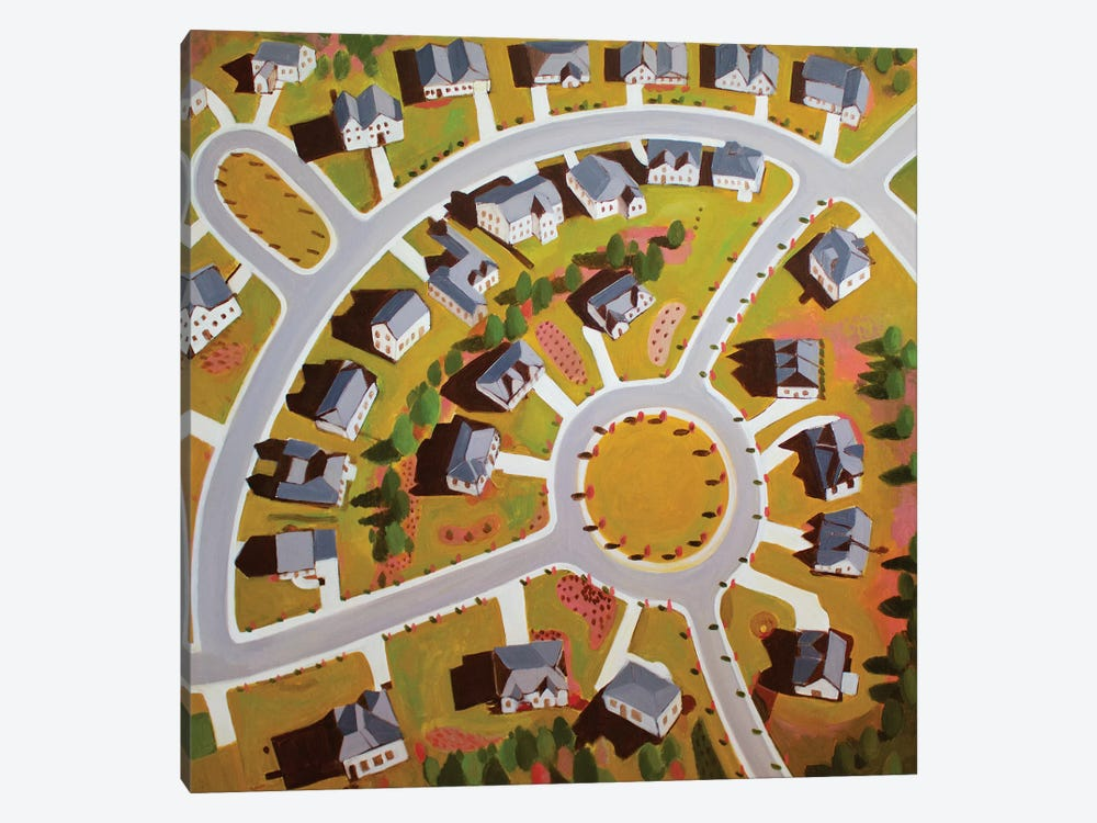 Circular Development by Toni Silber-Delerive 1-piece Art Print