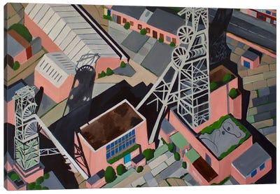 Coal Mine Tower Canvas Art Print
