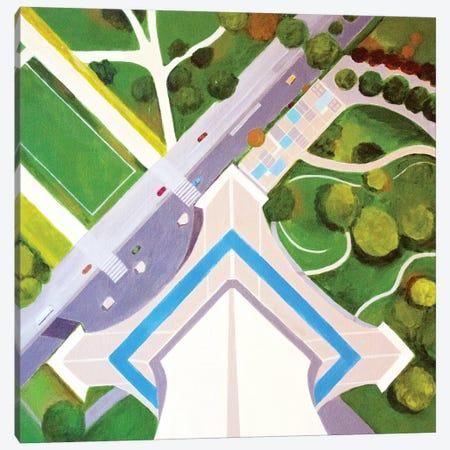 Effei Tower Canvas Print #TSD29} by Toni Silber-Delerive Canvas Art
