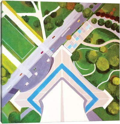 Effei Tower Canvas Art Print