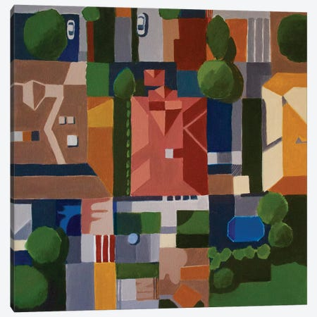 Albuquerque, NM Canvas Print #TSD2} by Toni Silber-Delerive Canvas Artwork