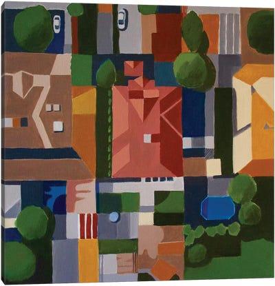 Albuquerque, NM Canvas Art Print