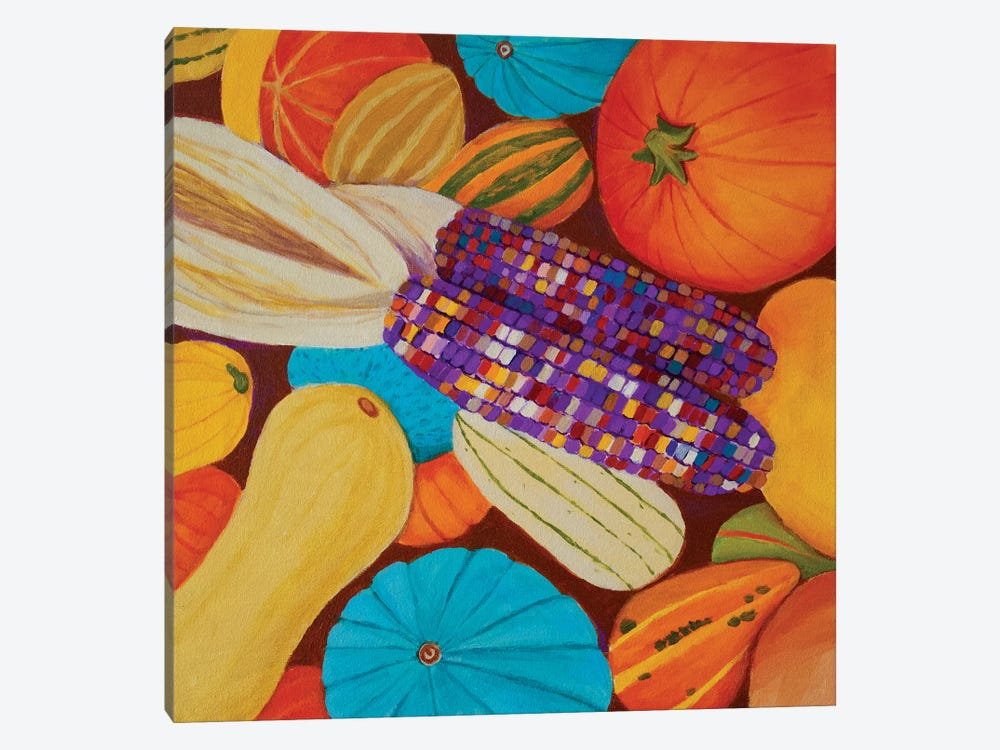 Fall Harvest by Toni Silber-Delerive 1-piece Canvas Print