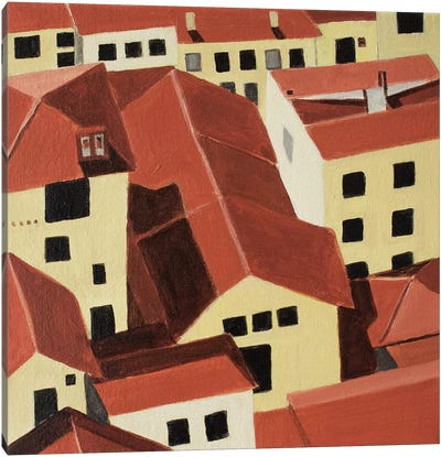 Florence Rooftops Canvas Art Print