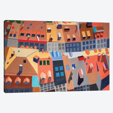 Fribourg, Switzerland Canvas Print #TSD34} by Toni Silber-Delerive Canvas Artwork