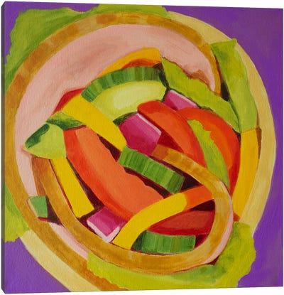 Ham Wrap Canvas Art Print