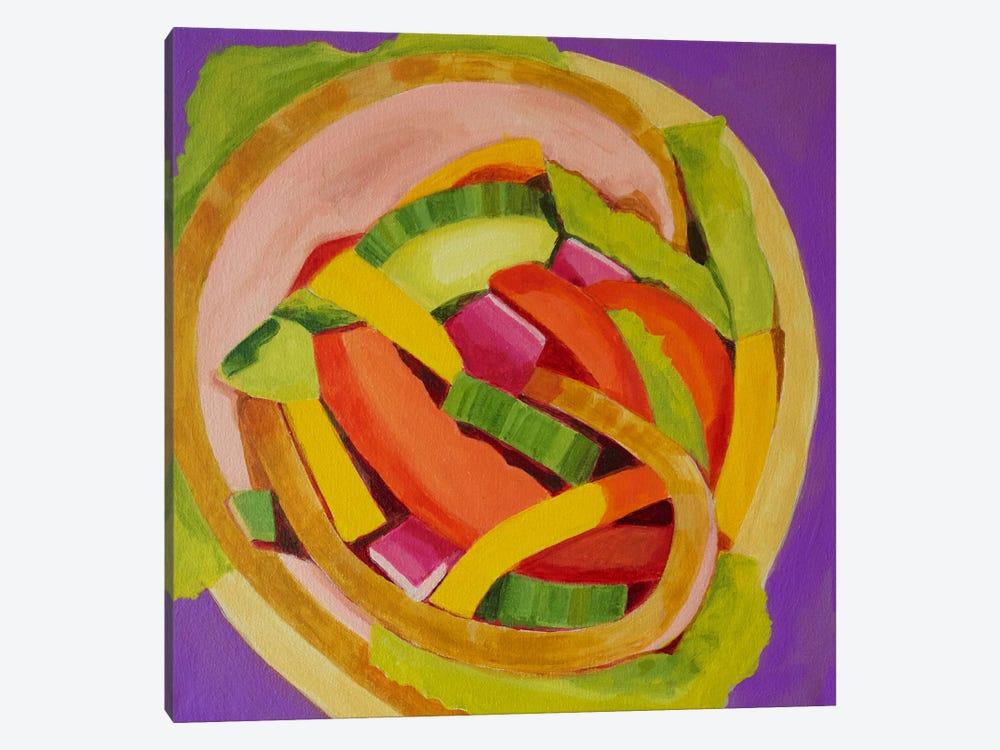 Ham Wrap by Toni Silber-Delerive 1-piece Canvas Art