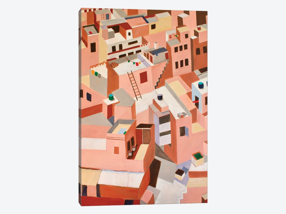 Jaipur, India by Toni Silber-Delerive 1-piece Canvas Artwork