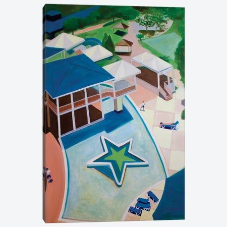 Jamican Resort Canvas Print #TSD42} by Toni Silber-Delerive Canvas Art