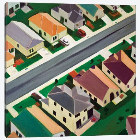 Northeast Suburb Canvas Print #TSD48} by Toni Silber-Delerive Canvas Art
