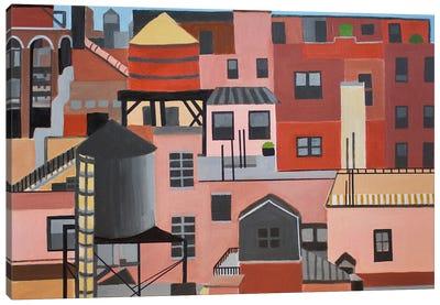 NYC Skyline Canvas Art Print