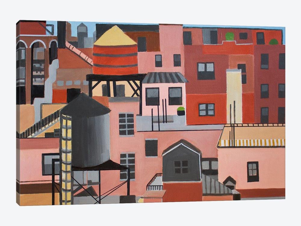 NYC Skyline by Toni Silber-Delerive 1-piece Art Print
