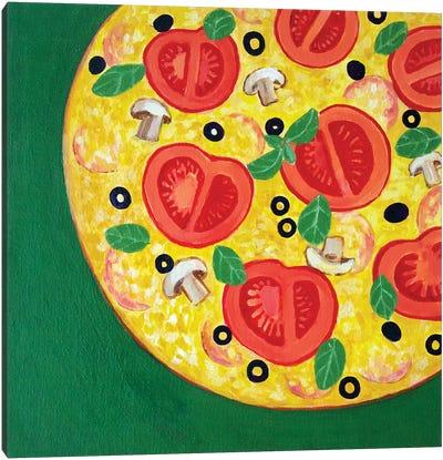 Pizza Canvas Art Print