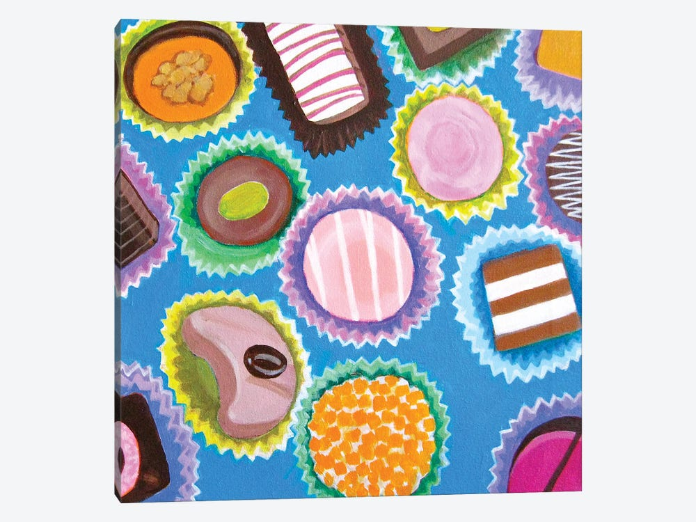 Assorted Chocolates by Toni Silber-Delerive 1-piece Art Print